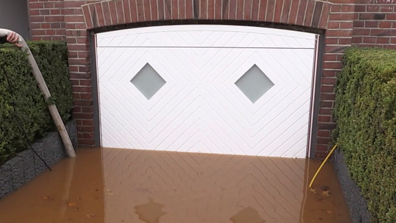 The Aqualock Garage Door Flood Protection For The Garage