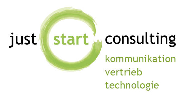 Logo der just start GmbH